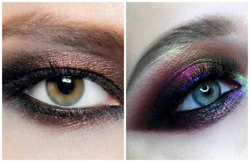 смоки айс для зеленых глаз, пошаговая техника выполнения make up